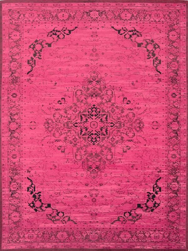 Louis de Poortere Vintage Heriz 8045 Persian Pink [[ UITLOPEND !!...