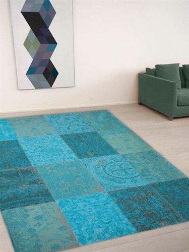 Vintage patchwork tapijt