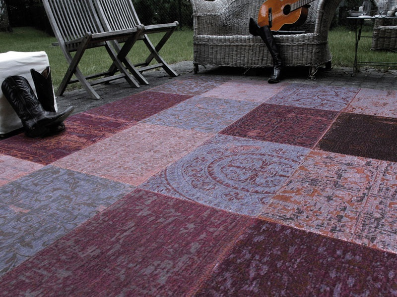 Vintage Kelim tapijt 8008 Pale Purple [[ gaat uit collectie ]]