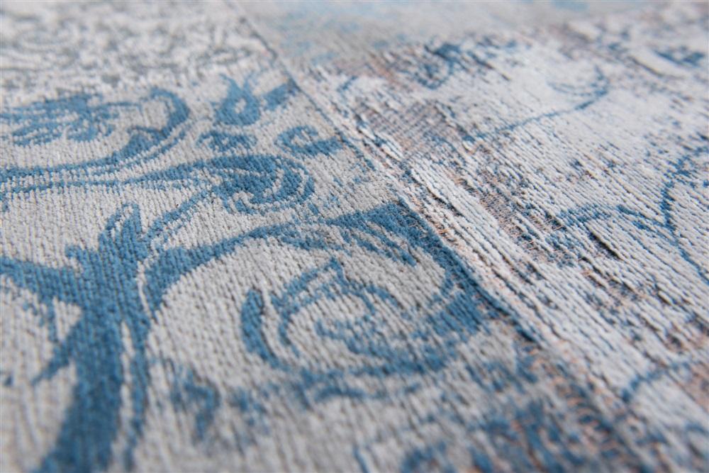 Vloerkleed Blauw Grijs : Louis de poortere vintage kelim tapijt bruges blue blauw