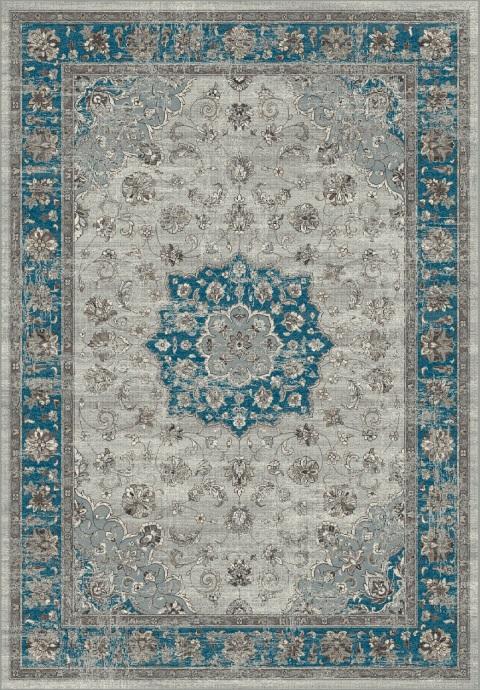 Jaipur blue / taupe