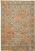 Louis de Poortere Fading World Agra Sur 8943 Light Blue Orange [Laatste] Blauw, Groen, Oranje