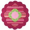 Esprit Flower Shape - ESP-2840-06 Multicolor, Rood, Roze