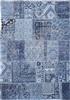 Louis de Poortere Khayma Farrago Tuareg Blue 8781 Blauw, Zwart