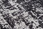 Louis de Poortere Mad Men GRIFF 8655 White on Black Grijs, Ivory, Wit, Zwart