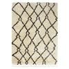 De Munk Carpets Beni Ouarain MM-02 Ivory, Zwart