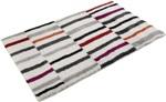 Esprit Riverside Badmat Esp 2429-01[Gaat uit collectie] Grijs, Multicolor, Rood, Wit, Zwart