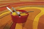 Arte Espina Action Painting 4018-29 [De laatste] Oranje, Terra