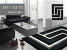 Arte Espina Tweed 4071-68 [De laatste] Zwart / Wit