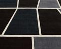 Ambiant  Tweed 4072-68 Grijs, Zwart / Wit