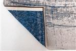 Louis de Poortere Mad Men GRIFF 8421 Bronx Azurit Blauw, Grijs, Ivory