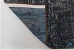 Louis de Poortere Mad Men 8424 Brooklyn Blue [[ gaat uit collectie ]] Antraciet, Blauw, Grijs