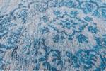 Louis de Poortere Fading World 8255 Grey Turquoise Blauw, Grijs
