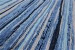 Louis de Poortere Atlantic Ocean 8485 Blue Stripes[Gaat uit de collectie] Laatste Blauw, Grijs, Zwart