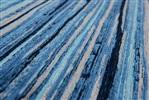 Louis de Poortere Atlentic 8485 Blue Stripes Blauw, Zwart, Grijs