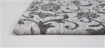 Louis de Poortere Vintage Kelim Tapijt 8982 Ghent Beige Beige, Ivory, Multicolor, Taupe