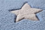 BellyButton Sternen Zelt BB 4215-04 Blauw, Ivory