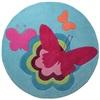 Esprit Butterflies blauw ESP-3811-01 Blauw, Multicolor