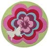Esprit Fantasy Flower Groen ESP-3812-01 Groen, Multicolor, Roze
