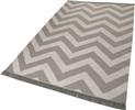 Carpets & Co Zig-Zag Go-0003-02 Beige, Creme, Taupe