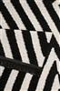 Carpets & Co Edgy Corners Go-0011-01 Creme, Zwart