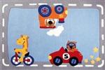 Sigikid Traffic SK-3346_01 big size **UITLOPEND !!! Blauw
