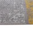 Louis de Poortere Vintage Kelim Tapijt 8084 Yellow Bruin, Geel, Taupe