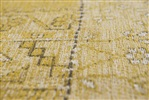 Louis de Poortere Khayma Farrago Palmyra Gold 8686 [Gaat uit de collectie] Bruin, Geel, Goud