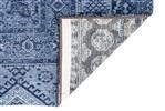 Louis de Poortere Khayma Farrago Tuareg Blue 8781 [Gaat uit de collectie] Blauw, Zwart