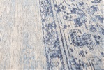 Louis de Poortere Khayma Fairfield 8670 Blue Border Blauw