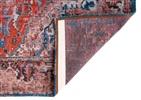 Louis de Poortere Antiquarian Heriz 8703 Classic Brick Blauw, Grijs, Multicolor, Rood