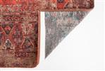 Louis de Poortere Antiquarian Hadschlu 8719 7-8-2 Red Antraciet, Blauw, Rood, Zand