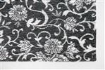 Louis de Poortere Vintage Kelim Tapijt 8751 ARDENNESGREEN[gaat uit de collectie] Antraciet, Grijs, Groen, Multicolor