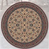 Lano Royal 1570-505 rond Beige, Rood