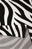 Wecom Home Zebra WH-0729-01[Gaat uit collectie] Ivory, Zwart