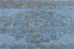 Onze Huis Collectie Newman turquise Blauw, Grijs