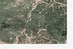 Louis de Poortere Mad Men CRACKS 8723 dark pine Creme, Groen, Ivory