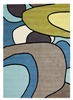Brink & Campman Estella comic 875008 Blauw, Groen, Multicolor, Taupe
