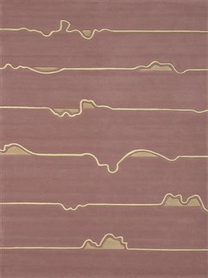 Arte Espina Zig-Zag 3072-36 [De laatste] Creme, Roze