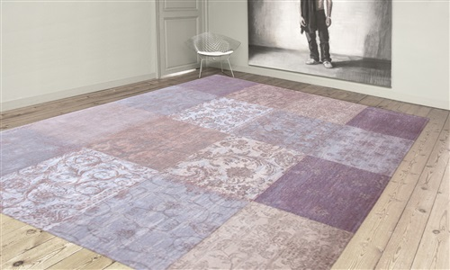 Louis de Poortere Cameo Multi Lavender 8372  [[ gaat uit collectie ]] Beige, Blauw, Grijs