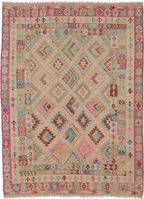 De Munk Carpets Kelim KMUCL-CC-045-183x250 Multicolor