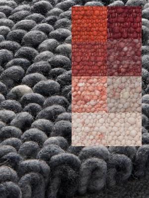 Brinker Carpets Step a10 rood-roze-brique Rood, Roze