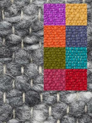 Brinker Carpets Step 2 multi color Blauw, Geel, Groen, Oranje, Paars, Rood