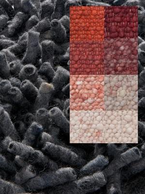 Brinker Carpets Step 9 rood-roze-brique Rood, Roze