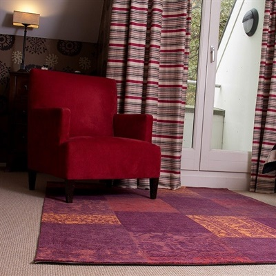 Onze Huis Collectie Agra Collage Red Rood