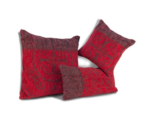 Vintage Kelim Tapijt 8014 Red kussen