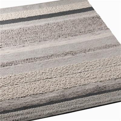 Brinker Carpets Step Design A White Creme, Grijs, Ivory