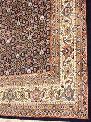 Onze Huis Collectie Herati blauw/beige Beige, Blauw, Creme