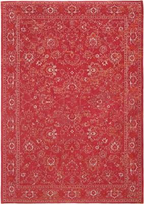 BOBO FLOWERS Roskilde Red 8910 [[ gaat uit collectie ]] ## de laatste