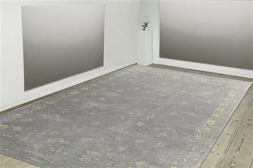 Louis de Poortere Cameo Fedra 8247 Grey Flannel [De laatste] Geel, Grijs